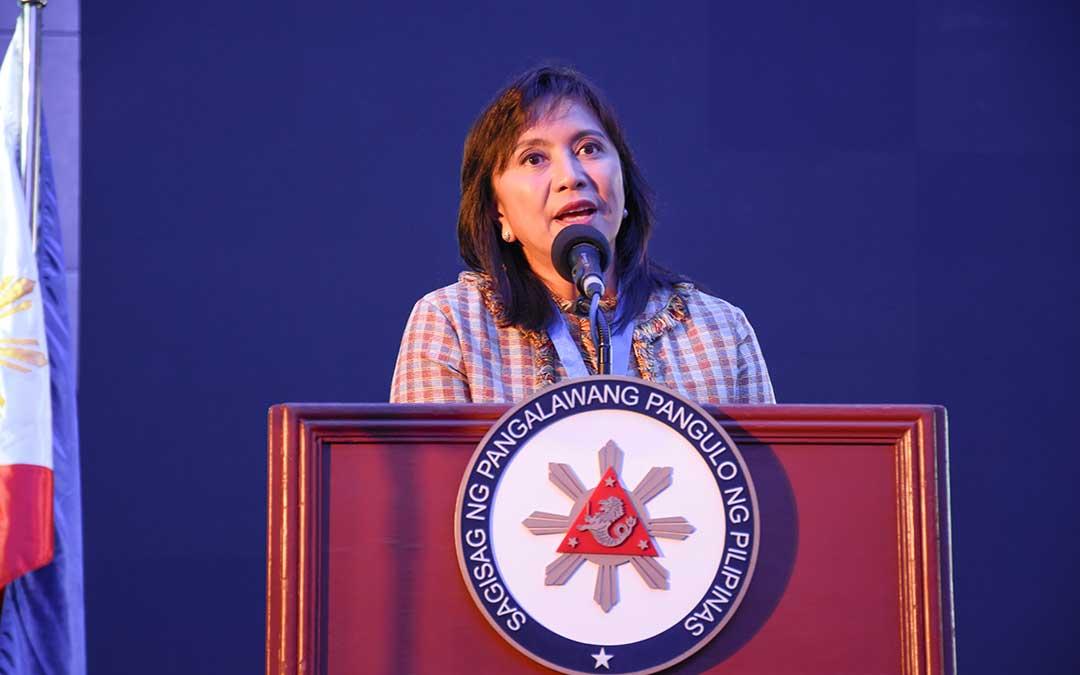 VP Robredo keynotes NCE 40