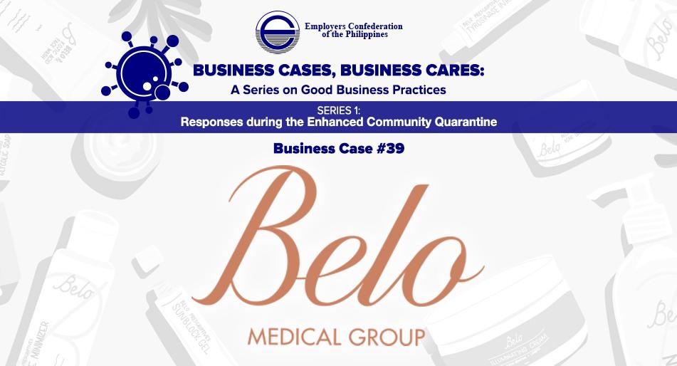 Best Practices of Belo Medical Group (BMG)