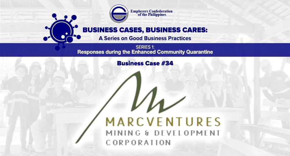 Best Practices ofMarcventures Mining and Development Corporation (MMDC)
