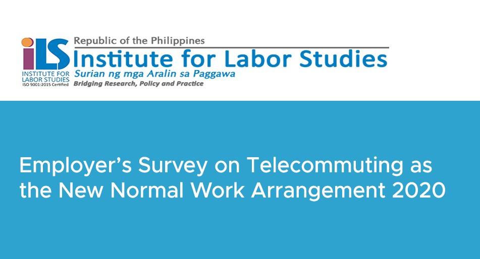 DOLE-ILS conducts survey on telecommuting