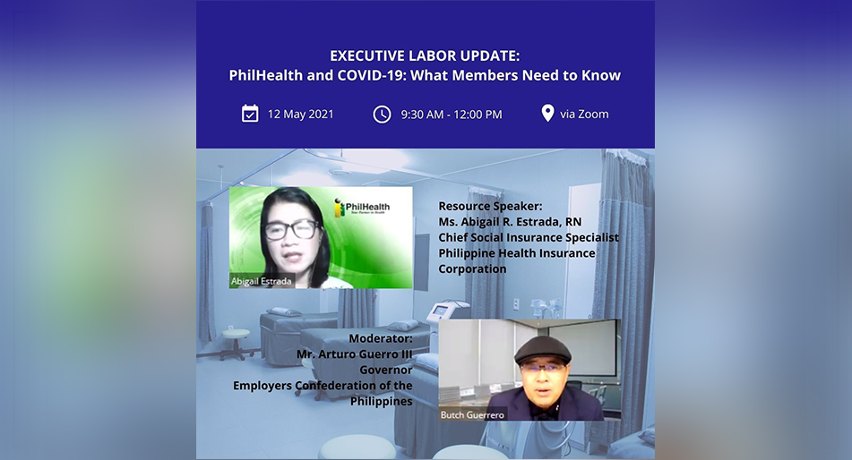 ECOP holds webinar on PHILHEALTH COVID-19 packages