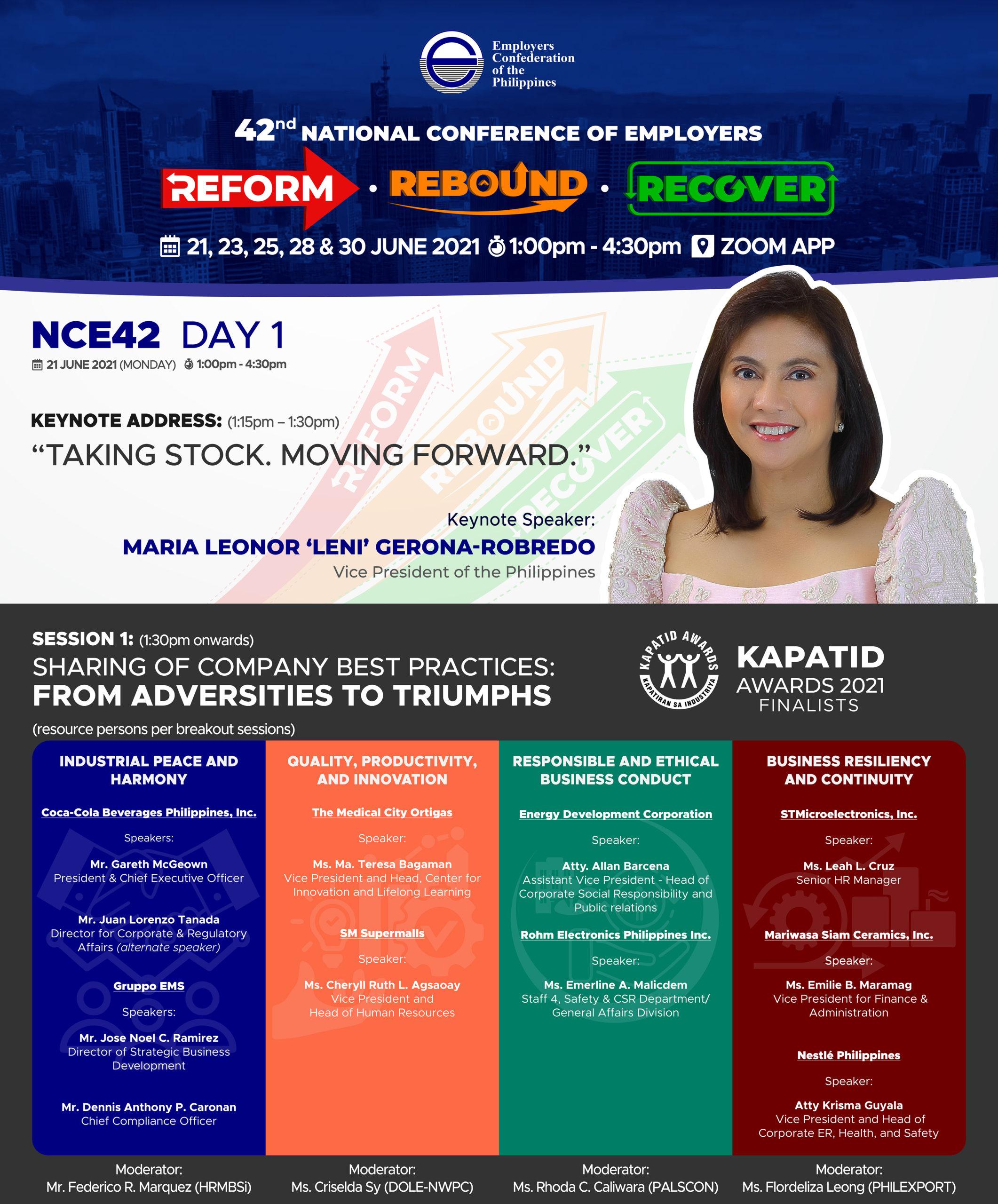 NCE42 (DAY 1) Opening Keynote Address