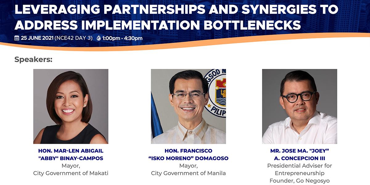 NCE42 Day 3 - REBOUND: Leveraging Partnerships and Synergies to Address Implementation Bottlenecks