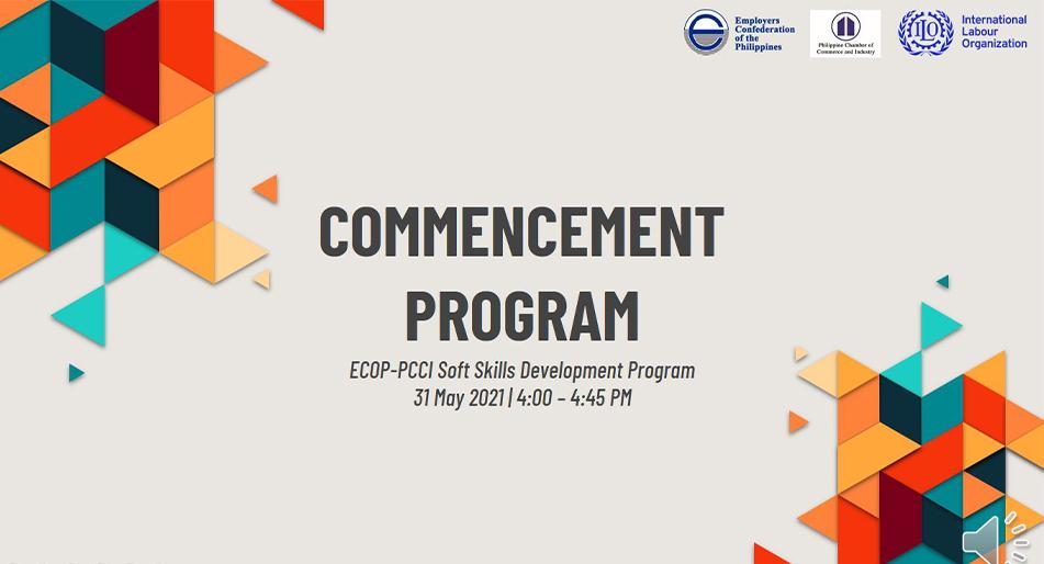 ECOP, PCCI hold graduation ceremonies on soft skills development workshop